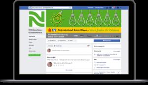 Wirtschaftsförderung Gründerland Facebook