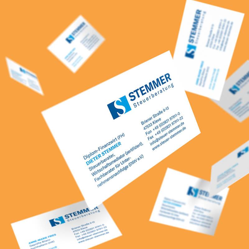 Steuerberatung Stemmer - Logodesign und Website